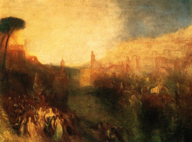 Departure of the Fleet - J.M.W. Turner