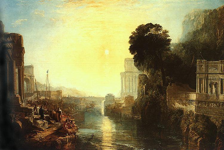 Dido Building Carthage, 1815 - J.M.W. Turner