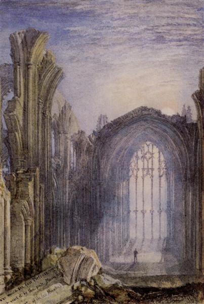 Melrose Abbey - J.M.W. Turner