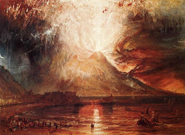 Mount Vesuvius in Eruption, 1817 - J.M.W. Turner