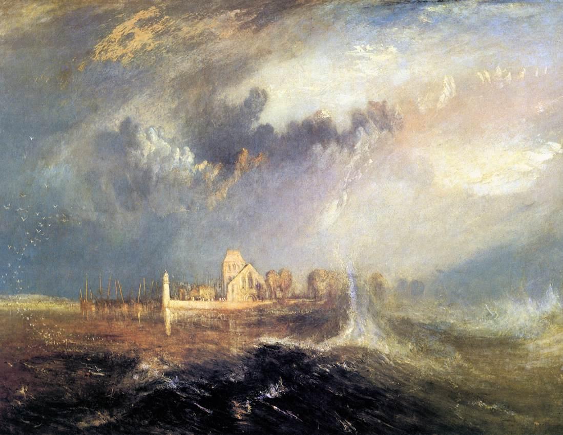 of Seine - William Turner Turner