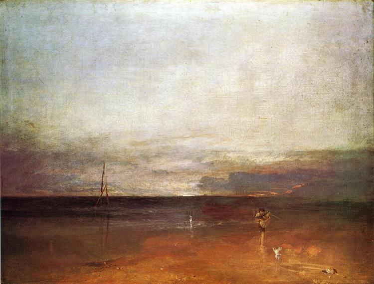 Rocky Bay with Figures, c.1830 - J.M.W. Turner