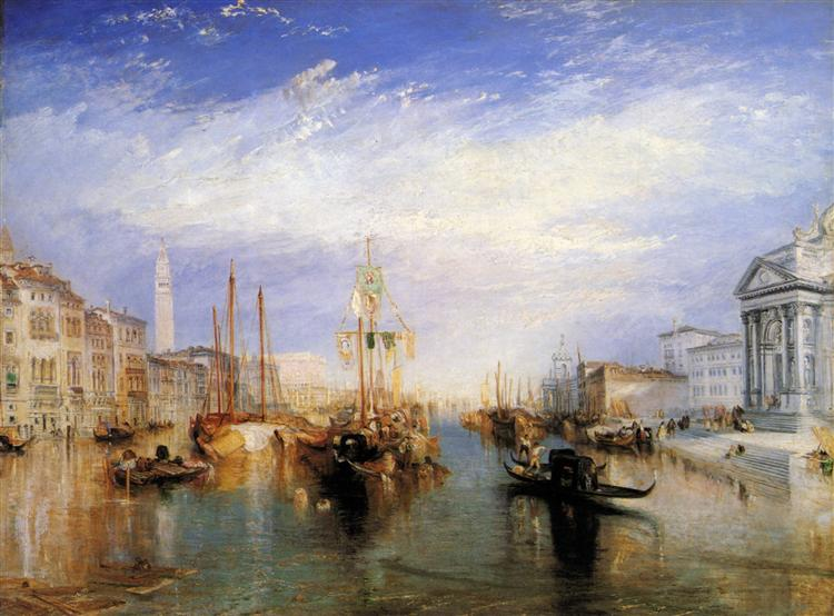 The Grand Canal, Venice, engraved by William Miller - J.M.W. Turner