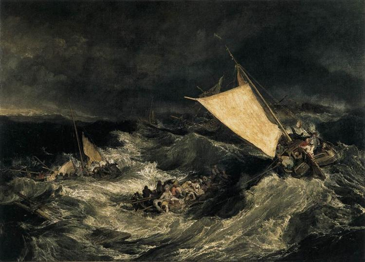 The Shipwreck, c.1805 - Joseph Mallord William Turner