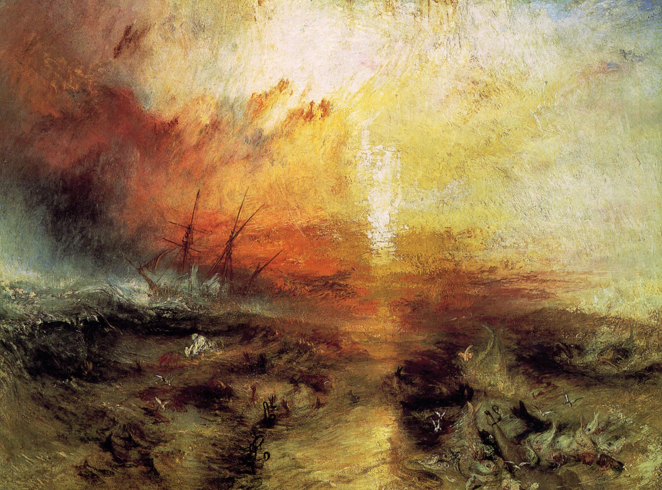 Image result for the slave ship turner