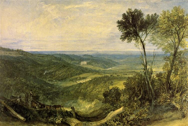 The Vale of Ashburnham, 1816 - J.M.W. Turner