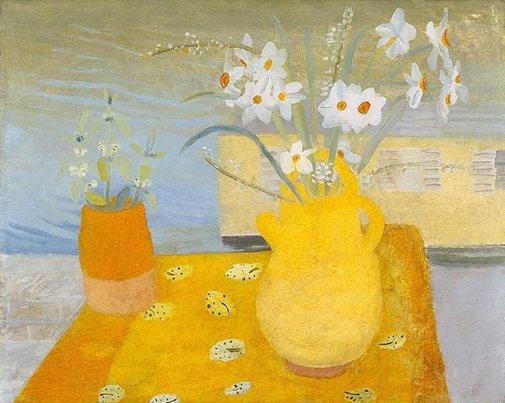 Kate's Flowers, 1936 - Winifred Nicholson