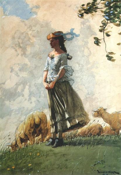 Fresh Air, 1878 - Winslow Homer