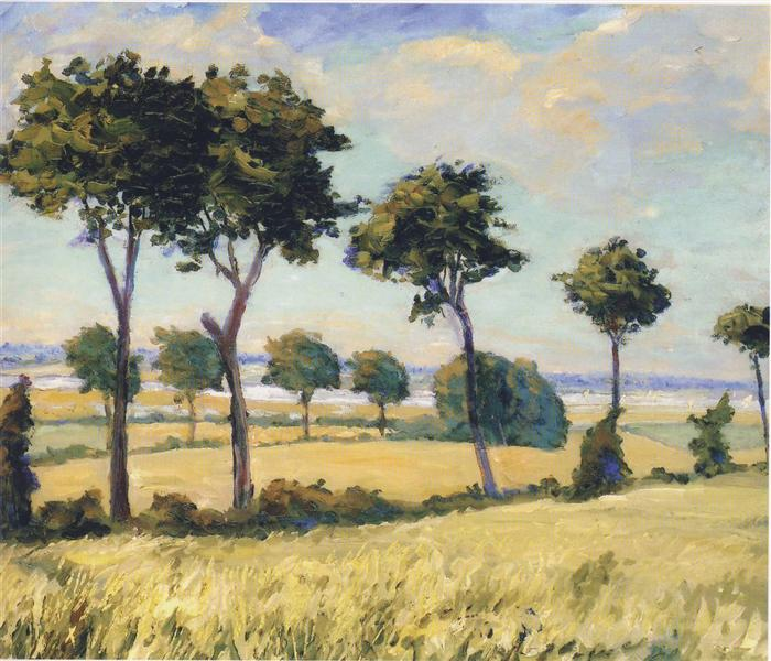 Trees near Breccles - 温斯顿·丘吉尔