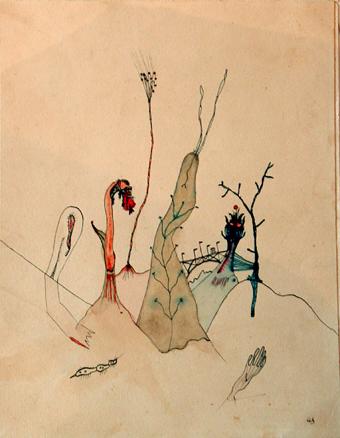Image result for Wols Dans le sable (enlisé, une seule main surgit)