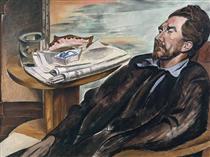 Ezra Pound - Wyndham Lewis