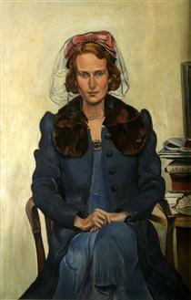 Miss Close - Wyndham Lewis