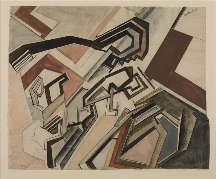 Planners: Happy Day, 1913 - Wyndham Lewis