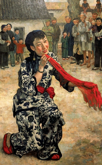 Put Down Your Whip, 1939 - Xu Beihong