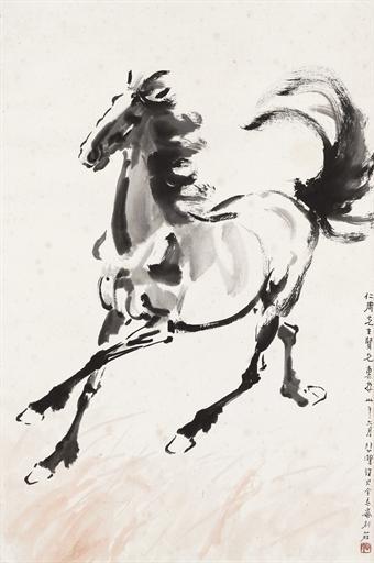 Running Horse, 1941 - Xu Beihong