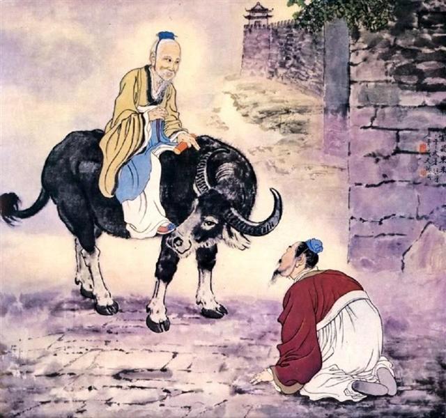 The Arrival of Lao Zi., 1945 - Xu Beihong