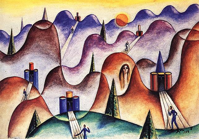 Cinco Melodias, 1949 - Xul Solar