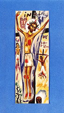 Jesús Crucifio, 1920 - Xul Solar