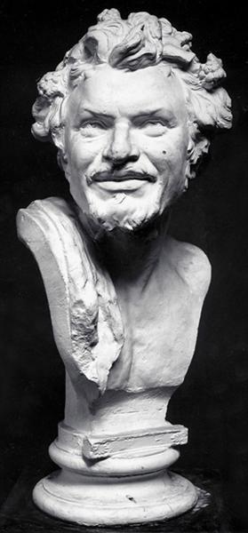 Head of Satyr, 1878 - Yannoulis Chalepas
