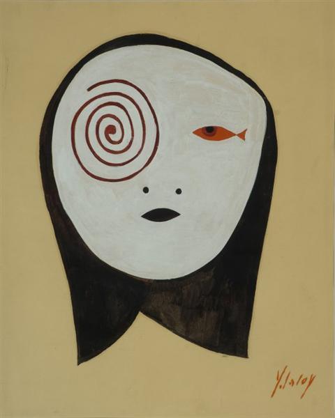 Tête en spirale - Yves Laloy
