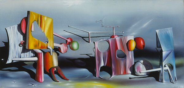 Reply to Red, 1943 - Yves Tanguy