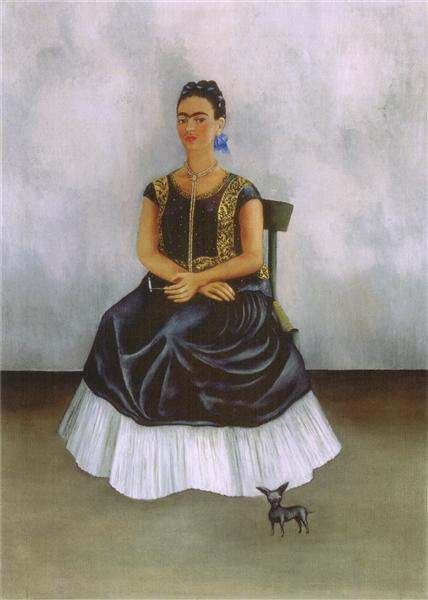 Itzcuintli Dog with Me, 1938 - Frida Kahlo