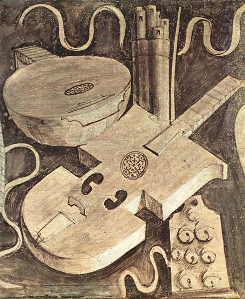 Musical instruments (music), 1510 - Giorgione