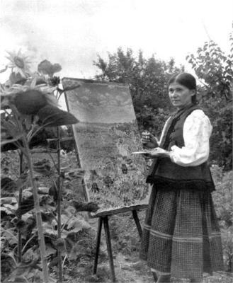 Катерина Білокур