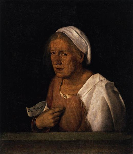 The Old Woman, 1505 - Giorgione