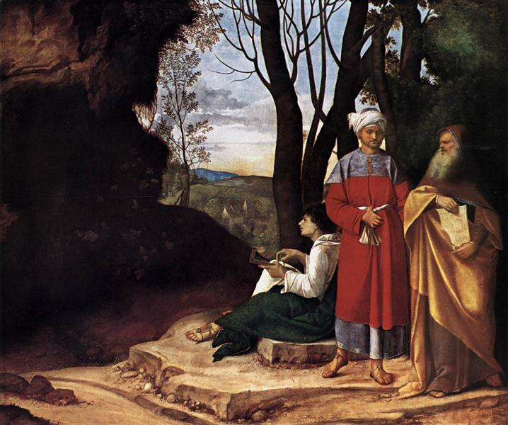 The Three Philosophers - Giorgione