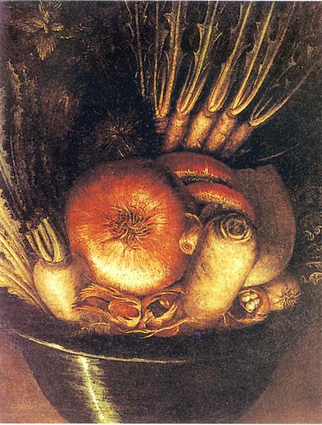 The Vegetable Gardener, c.1590 - Giuseppe Arcimboldo