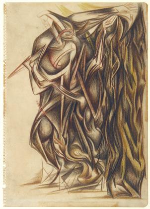 Untitled, 1941 - Jackson Pollock