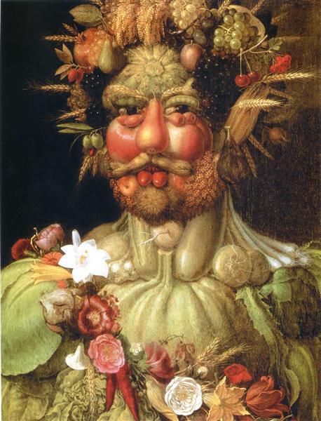 Vertumnus (Emperor Rudolph II) - Arcimboldo Giuseppe